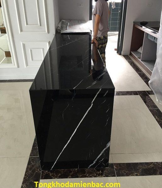 đá ốp bếp màu đen